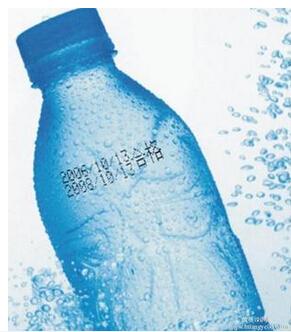矿泉水瓶喷码,饮料瓶